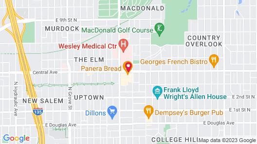 Wesley Inn Map