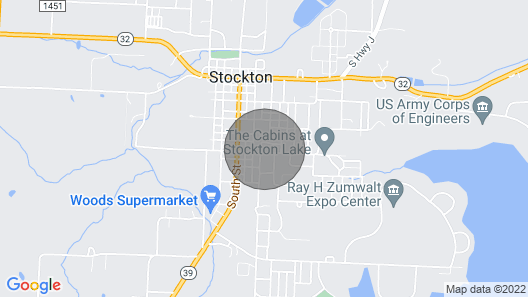 Modern Home w/Patio & Grill, 1 Mi to Stockton Lake Map