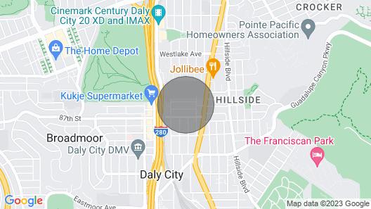 Spectacular SF Home in Quiet Neighborhood Map
