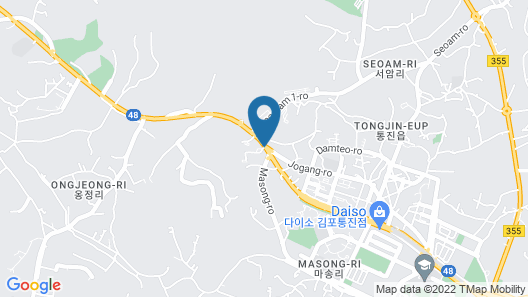 Line Hotel Map