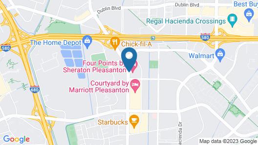 Four Points by Sheraton Pleasanton Map