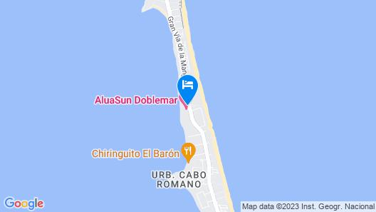 AluaSun Doblemar Map