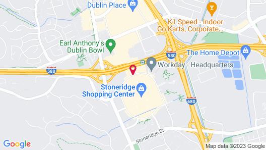 AC Hotel by Marriott Pleasanton Map