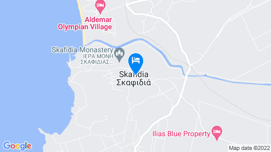 Dimitra Apartment Hotel Map