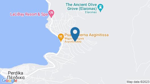 Aegina Sunset Villas Map