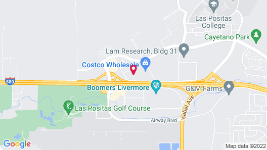 Homewood Suites by Hilton Livermore, CA Map