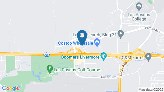 Courtyard by Marriott Livermore Map