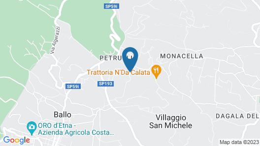 Antico Borgo Petralia Map