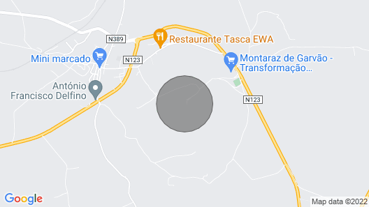 1 Bungalow in Ourique /Garvão , Sw Alentejo, Central Portugal, Reg. nº AL  8709 Map
