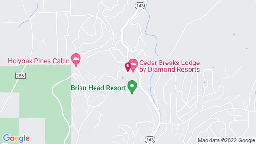 Cedar Breaks Lodge by Diamond Resorts Map