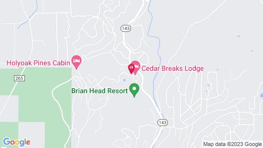 Best Western Premier Brian Head Hotel & Spa Map