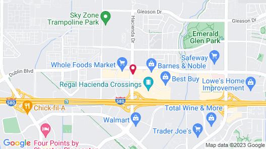 Hyatt Place Dublin/Pleasanton Map