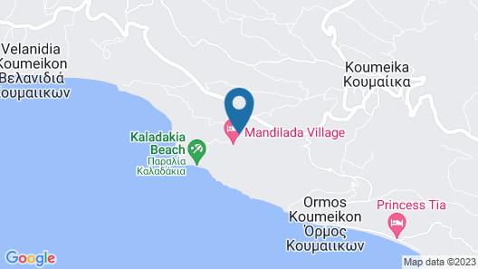 Mandilada Villas Map