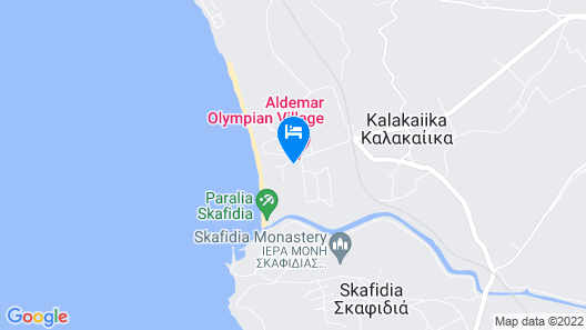 Aldemar Olympian Village - All Inclusive Map