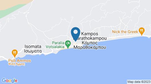 Kampos Village Resort Map