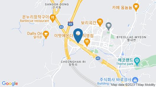 Number 25 Byeollae Branch in Namyangju Map