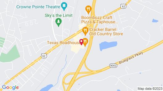 Hilton Garden Inn Elizabethtown, KY Map