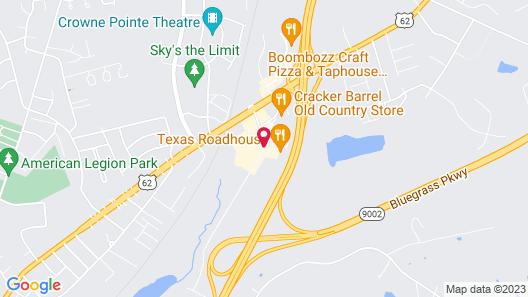 Ramada by Wyndham Elizabethtown Map