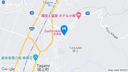 Yutagami Onsen Nostalgic Inn Suehirokan Map