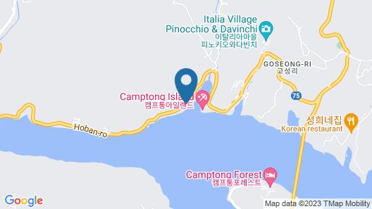 Interlaken Pension in Gapyeong Map