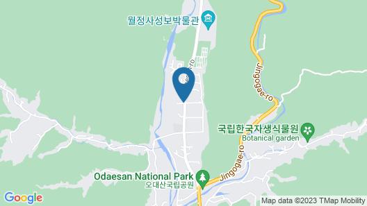 Odae Mountain Healing Town - Golden Light Map
