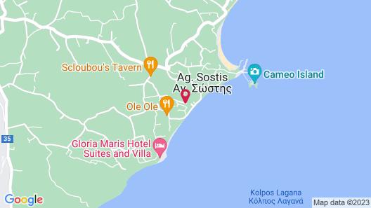 Z for Zante Villas Map