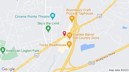 Motel 6 Elizabethtown, KY Map