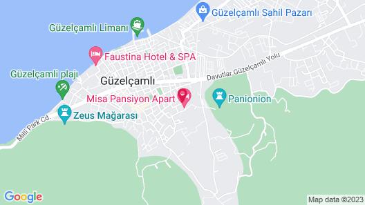 Misa Pansiyon Apart Map
