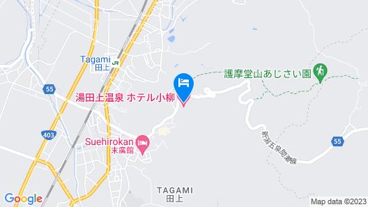 Hotel Oyanagi Map