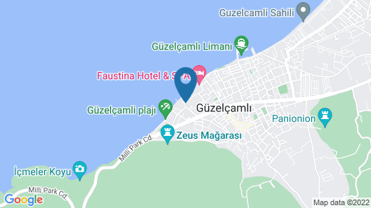 Maia Luxury Beach Hotel & Spa Map