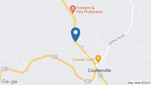 Yosemite Gold Country Lodge Map