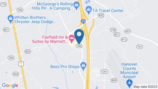 Country Inn & Suites by Radisson, Ashland - Hanover, VA Map