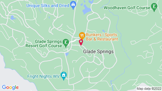 The Resort at Glade Springs Map