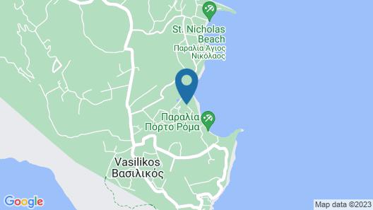 Zante Royal Resort Map