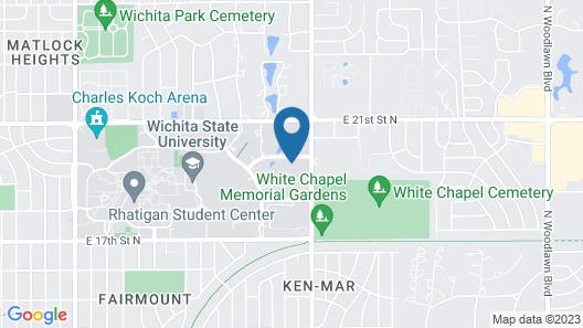 Hyatt Place Wichita State University Map