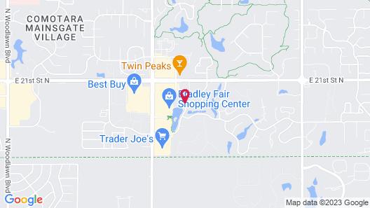Hilton Garden Inn Wichita Map