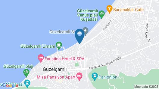 Holiday Otel Map