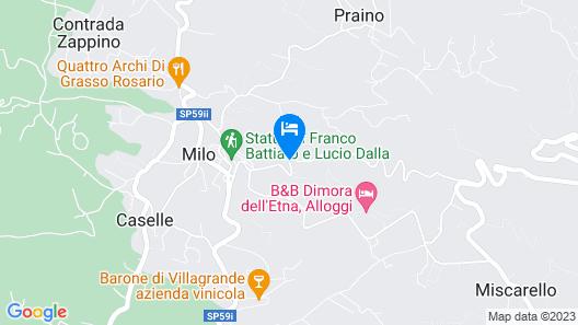 B&B Villa Loriana Map