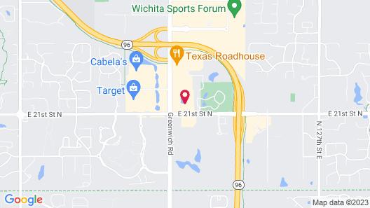 Staybridge Suites Wichita, an IHG Hotel Map