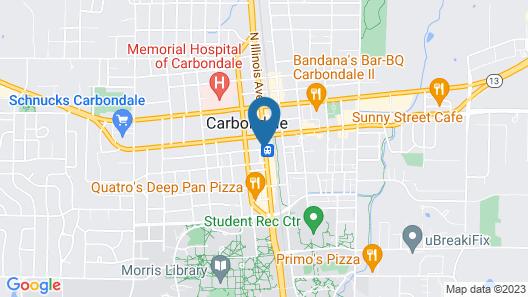 Home2 Suites by Hilton Carbondale Map