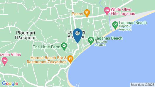 Ionis Art Hotel Map
