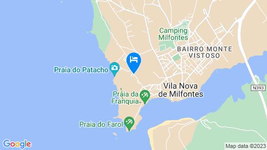 Duna Parque Beach Club Map