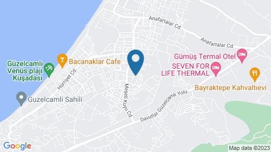 ROZA VİLLAS Map