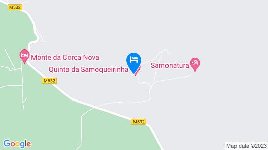 Quinta da Samoqueirinha Map