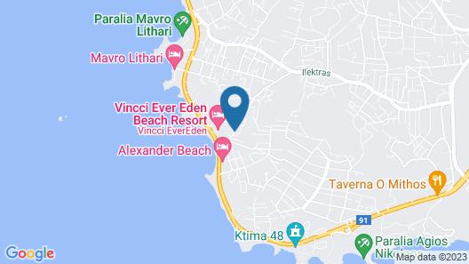 EverEden Beach Resort Hotel Map
