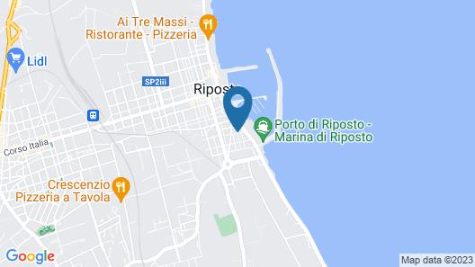 La Barcaccia B&B Riposto Map