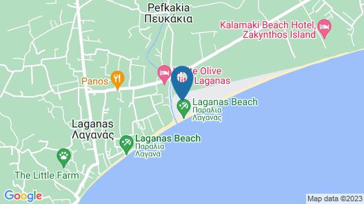 Zante Beach Resort - All Inclusive Map