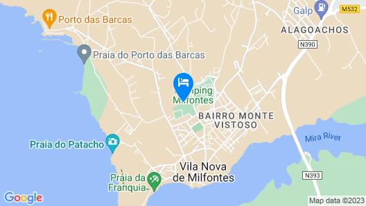 Quinta Do Moinho De Vento - Racket & Country Club Map