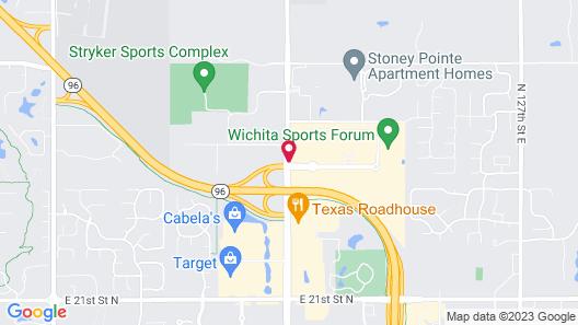 La Quinta Inn & Suites by Wyndham Wichita Northeast Map