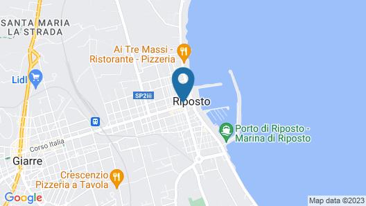 Sicilia Etna Mare Map
